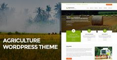 Agriculture WordPress Theme for agri business and products - SKT Theme