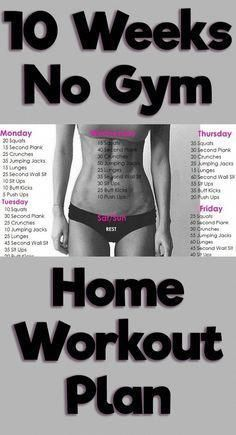 Are you looking for a quick and effective workout? Switch up your daily workout routine with 13 no gym full body workouts that can be done at home. #exerciseathome