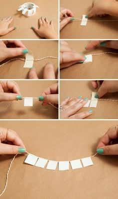 Adorable DIY bunting banner cake topper made out of Duct Tape!!!                                                                                                                                                                                 More
