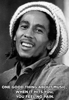 Every little thing's gonna be all right. Celebrate the wisdom, power, and joy of Bob Marley by streaming some of his classics right now on Spotify.