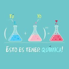 Tú + Yo = ❤ Quimica de amor #etcmx #quotes #frases
