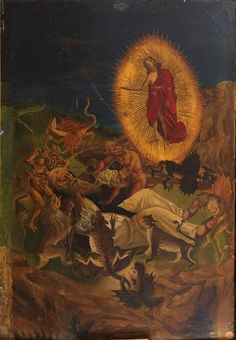The Temptation of Saint Anthony Abbot by an unknown artist, (Museum of Santa Cruz, Toledo ES) Prado, Photography Illustration, Art Photography, Anthony The Great, San Antonio Abad, Temptation Of St Anthony, Lives Of The Saints, Religious Paintings, Historical Art