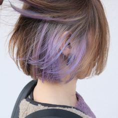 Hair Inspo, Hair Inspiration, Under Hair Color, Haircuts Straight Hair, Hair Color Streaks, Magic Hair, Hair Reference, Girl Short Hair, Aesthetic Hair