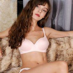 9f448488b3  Fashion  BestPrice Sexy Real Silk Bra Seamless Thin Bra Women Pure Color  Wireless Pushup