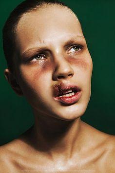 Beauty of Violence by Igor Klepnev, via Behance