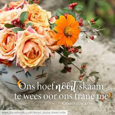 Afrikaans Quotes, Living Water, Love Me Quotes, Happy Colors, Dear God, True Words, True Stories, Art Projects, Van