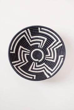 Geometric Plateau Basket