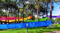 Ribbons ©Photo by Sasha James Dion #Ribbons #trees #curtinuniversity