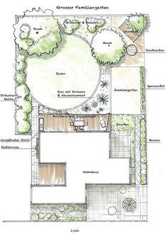 gartenAtelier - Planung und Gestaltung von Naturzonen: Grosser Familiengarten