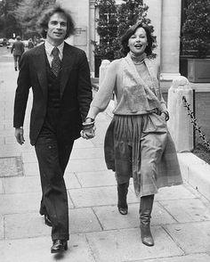 Rudolf Nureyev and Leslie Caron