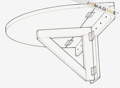 Folding Wall Mounted Table Plans PDF Woodworking