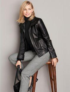 Leather Jacket - Talbots - SB Sept 2016