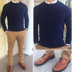Great example of how to nail the classics. #menswear #mensstyle