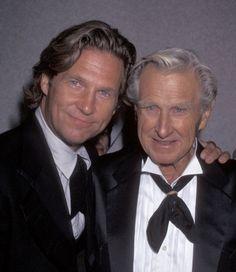 Jeff Bridges assieme al padre Lloyd Bridges -