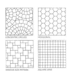 Natural Tile Patterns Algebra House Tile Design