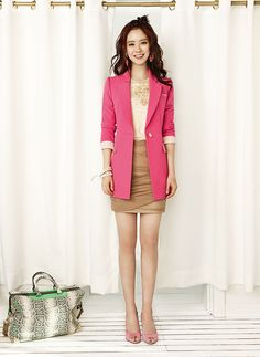 YESSE Spring 2014 Ad Campaign With Song Ji Hyo | Couch Kimchi