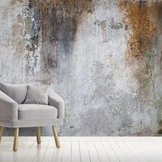 Aged Concrete Wallpaper is made to measure to the finest materials to fit your project to prefection FREE UK delivery within 2 to 4 working days. Look Wallpaper, Wall Wallpaper, Feature Wallpaper, Brown Wallpaper, Concrete Wallpaper, Painting Concrete Walls, Faux Painting, Scandinavian Wallpaper, Faux Walls