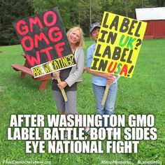 After Washington GMO Label Battle Both Sides Eye National Fight. More Here: http://www.reuters.com/article/2013/11/08/us-usa-gmo-labeling-idUSBRE9A70UU20131108?feedType=RSS&feedName=everything&virtualBrandChannel=11563