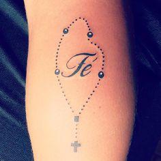 #tattoo #tatuagem #tattoonepre #nepomuceno #terço #fe (em Merlo's Tattoo)