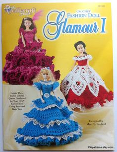 fashion doll glamour i crochet pattern by mary layfield the needlecraft shop booklet 991020