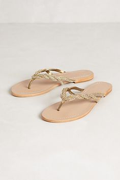 everlytrue: [Sparkle Braided Slides by Anthropologie] Cute Sandals, Gold Sandals, Shoes Sandals, Women Sandals, Shoes Women, Flat Sandals, Crazy Shoes, New Shoes, Me Too Shoes