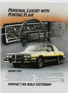 The original Gran Prix; Personal Luxury With Pontiac Flair