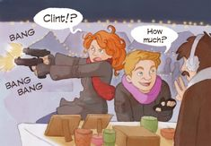 """Clint & Natasha's """"UNDERCOVER MISSION #02: Budapest Christmas Markets"""". They remember it very differently."""