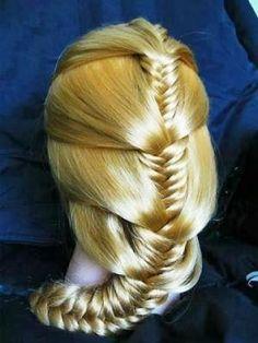 Fabulous hair style braid idea