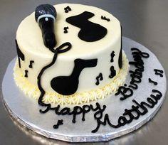Music theme cake