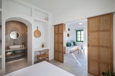 Antamoma Suites in Kythnos. Construction & Design until the final detail by Polisgram Architects