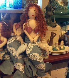 Mermaid Doll @ Cracker Barrel Old Country Store