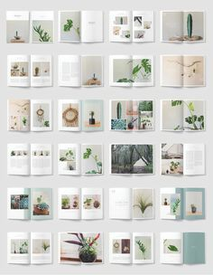 NATURALIS Lookbook / Magazine by 46&2 Collective on @creativemarket