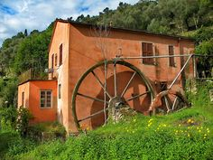 This old mill lies at the beginning of Tuja Valley in Rapallo, Italy