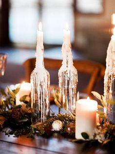 Details from the prettiest winter wedding