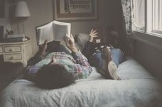 Couples who read together stay together