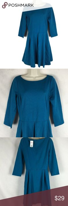 ce3a98d5e5 Banana Republic 10 Teal NWT  130 Dress Banana Republic Womens 10 Teal NWT   130 Dress .