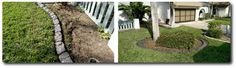 New England Slate custom hand carved curbing in S. Fort Myers. See more http://www.msdcurbing.com/decorative-concrete-cape-coral-fort-myers-fl.html