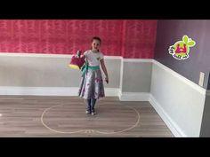 """Táncos mozgásfejlesztés - Így tedd rá! """"OTTHON"""" - alma pálya - páros lábon ugrás. - YouTube"""