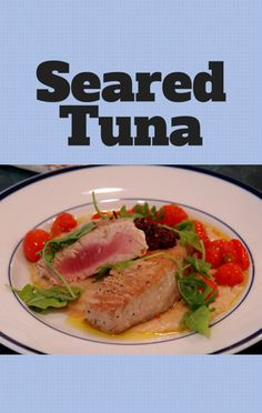 'Clipped' star Ashley Tisdale came by The Chew to help Clinton Kelly make a great Seared Tuna Rice Bowl Rice recipe. http://www.foodus.com/the-chew-seared-tuna-rice-bowl-recipe/