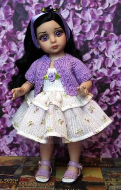"CLOTHING for Patsy, Trixie, Ann Estelle 10"" DoLLs 4 PC ~Lavender~ US SELLER in Dolls & Bears, Dolls, Clothes & Accessories 