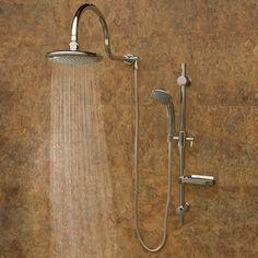 aqua rain shower system silver finish rain shower head chrome fixtures this is good