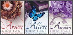 Românticos e Eróticos  Book: Nina Lane - Spiral of Bliss #1 a #3