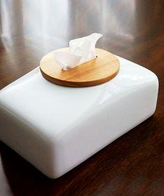 Ceramic Tissue Display | dotandbo.com