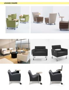 Conceptual Furniture for The Learning Center