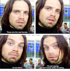 """And this concludes another episode of Seb not knowing what he is doing. Join in next week when you'll here Sebastian say, """"I don't know."""""""