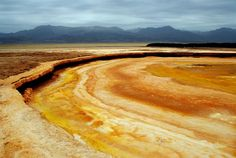 The Danakil Depression - The Danakil Desert, Ethiopia