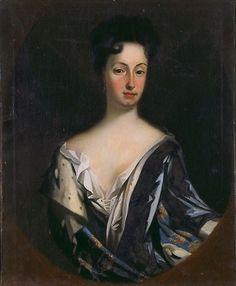 Hedwige de Suède (1681-1708) Grand Mère Paternelle de Pierre III. Peinture de Oberdorff (Tillverkare, Saker)