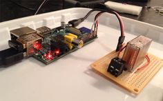 Tell Siri to Open your Garage Door with Raspberry Pi