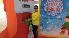 Ms Varsha Sharma gifted happiness to the kids this Christmas! #InorbitMakesMeSmile