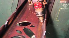 taglio e foratura travi in acciaio - CMMLASER